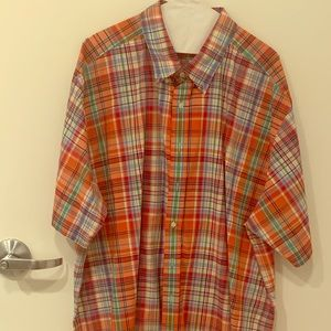 Polo Ralph Lauren Madras Plaid Sport Shirt